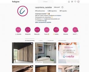 Instagram Carpintería Castellar